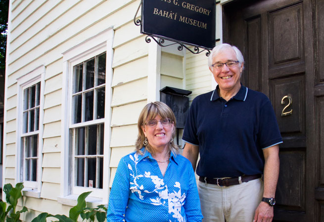 Bonnie and David Springer help run a museum in the former home of an important Charleston Bahá'í