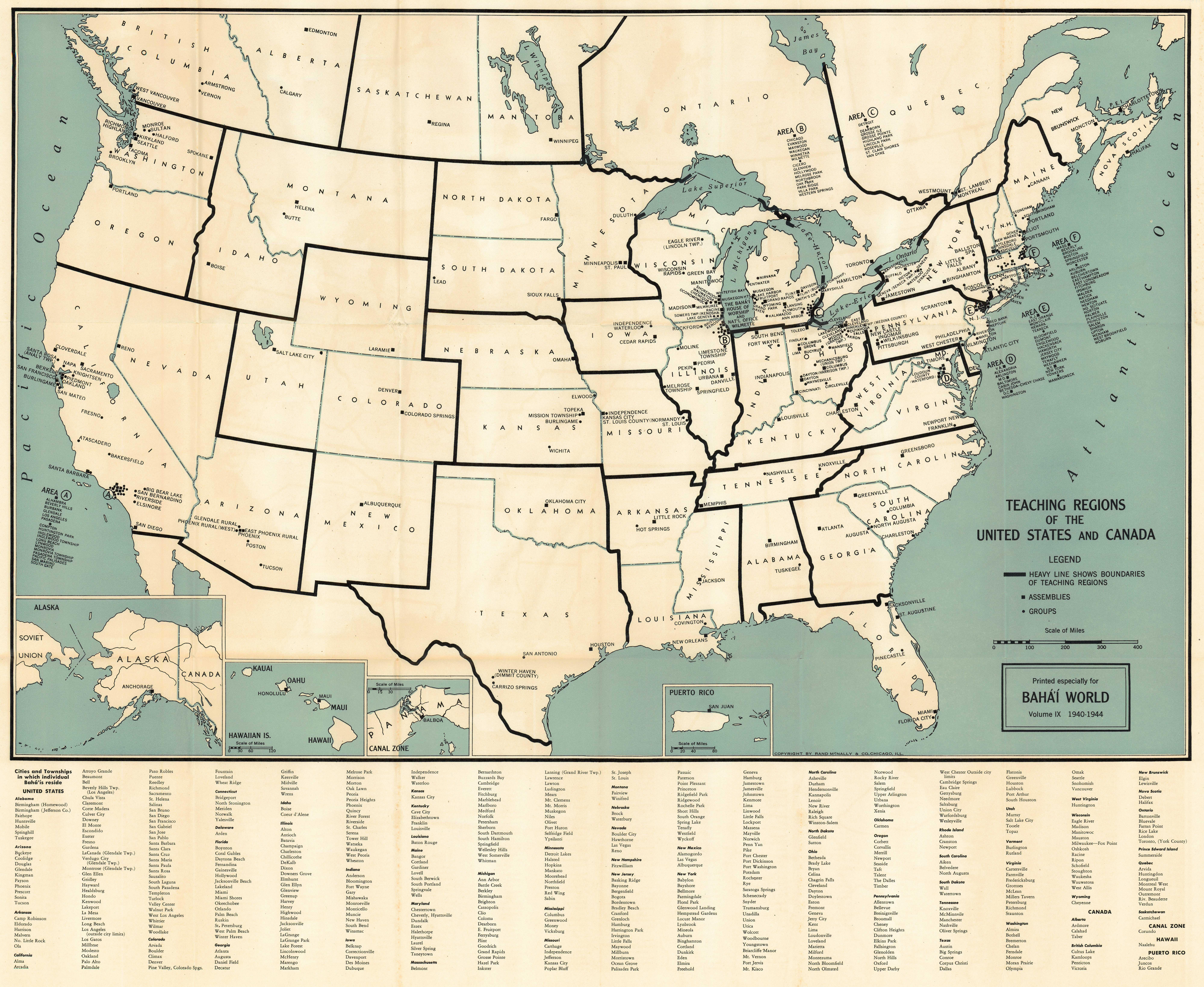 Big 8000x6562 Px 5 5mb Bw09 Map1 Teaching Regions America 1940 Big Jpg